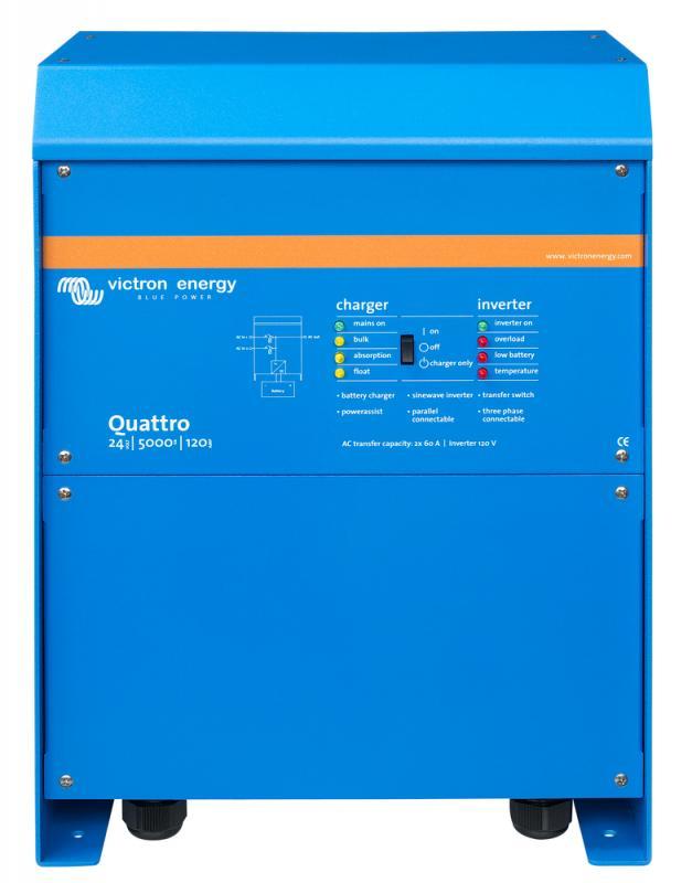 Victron - Quattro 24/5000/120-100/100 120V VE.Bus