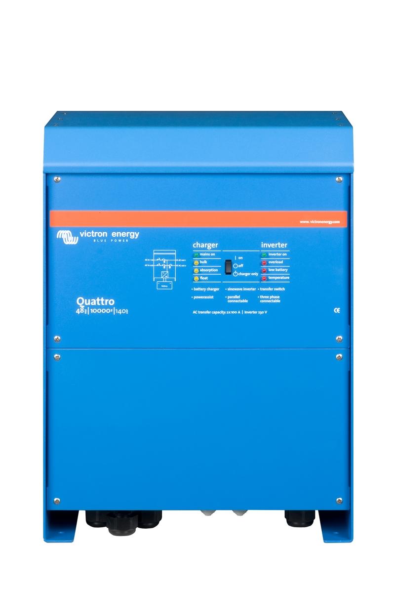 Växelriktare/Laddare - Victron - Quattro 48/10000/140-100/100