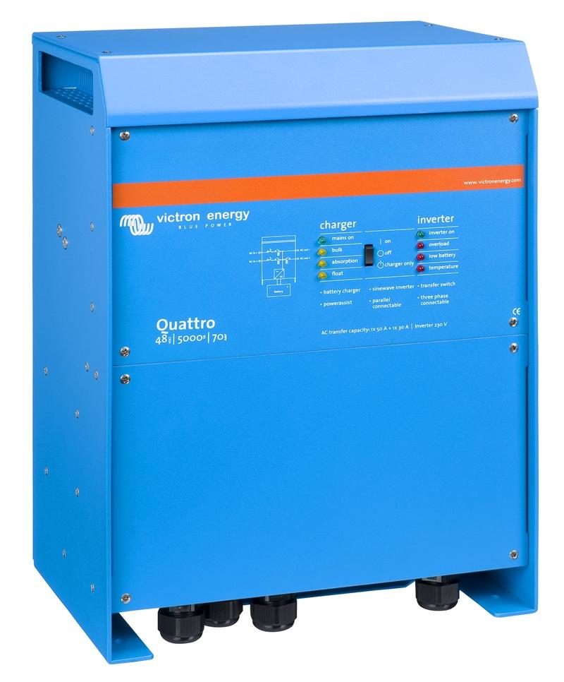 Victron - Quattro 48/5000/70-100/100