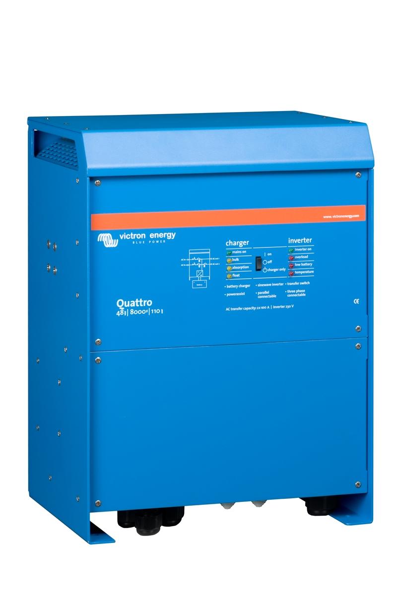 Victron - Quattro 48/8000/110-100/100