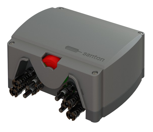Santon - DC HP Brandkårsbrytare/Frånskiljare MC4