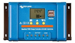Victron - BlueSolar PWM-LCD&USB 12/24V-10A