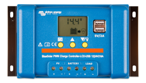 Victron - BlueSolar PWM-LCD&USB 12/24V-20A