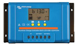 BlueSolar PWM DUO-LCD&USB 12/24V-20A