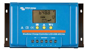Victron - BlueSolar PWM-LCD&USB 48V-10A
