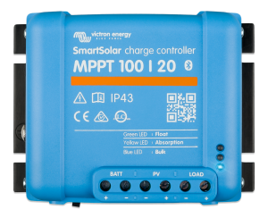SmartSolar MPPT 100/20 (up to 48V) Retail
