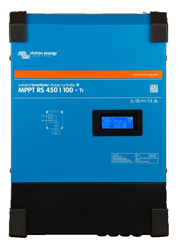 Victron - Laddningsregulator - SmartSolar MPPT RS 450/100-Tr