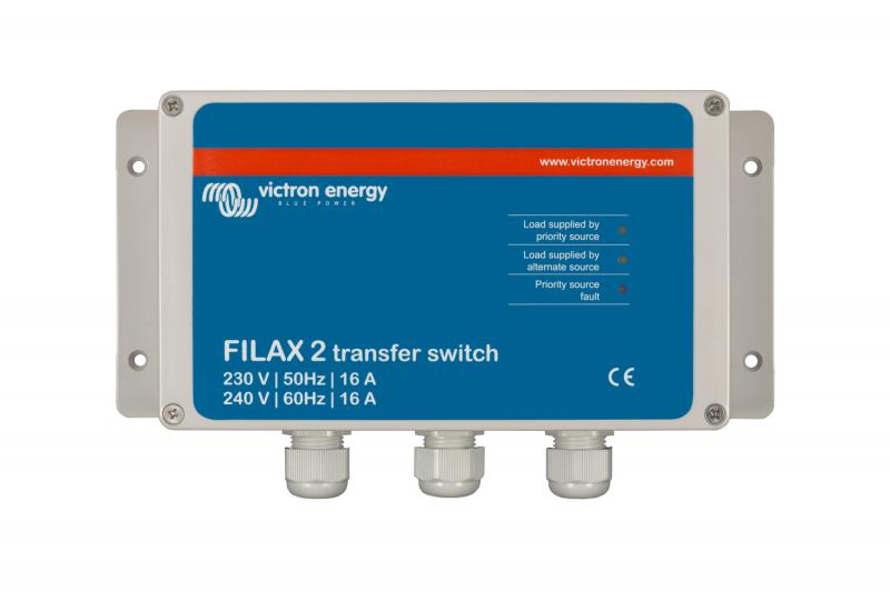 Victron - Filax 2 Transfer Switch CE 230V/50Hz-240V/60Hz