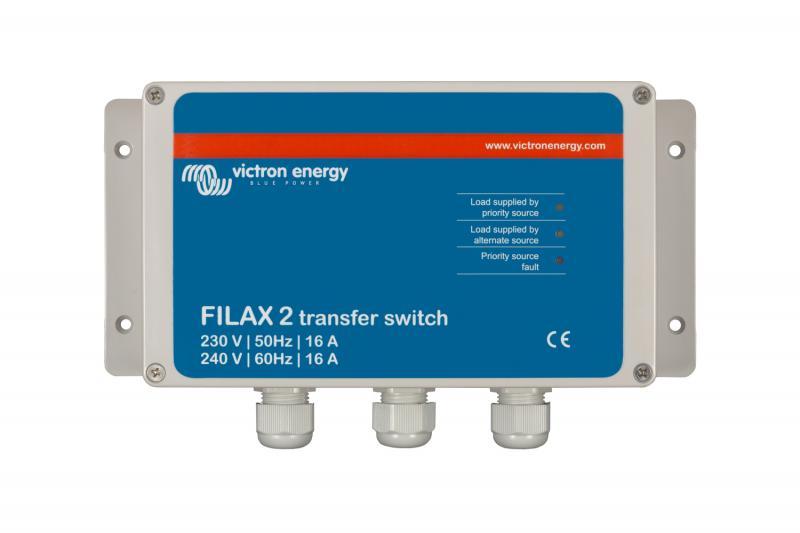 Victron - Filax 2 Transfer Switch CE 110V/50Hz-120V/60Hz