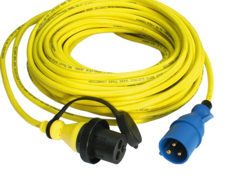 Victron - Shore Power Cord 15m 25A/250Vac (3x4sqmm)