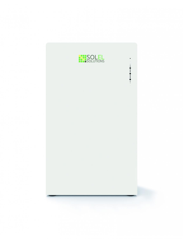 Solel Solutions  - 7.5 kWh energilager - paket