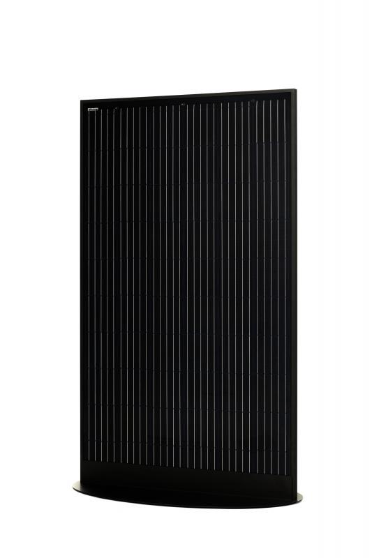 SoliTek - SOLIDFramed GlasGlas 330W Mono 60-cell, Svart, Bifacial