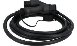Solel Solutions - Laddkabel Mode3 Typ2, 3-fas, 22kW, 3 m