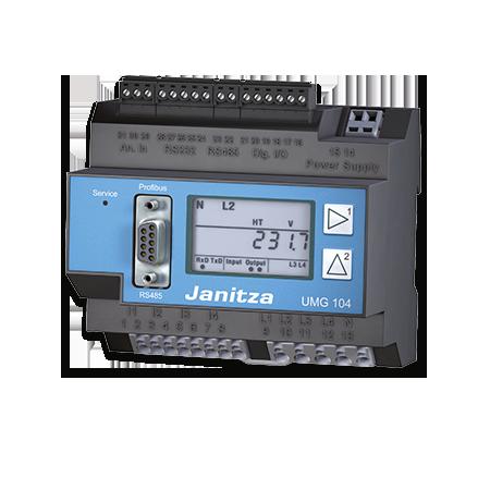 Janitza - Energimätare med minne 104