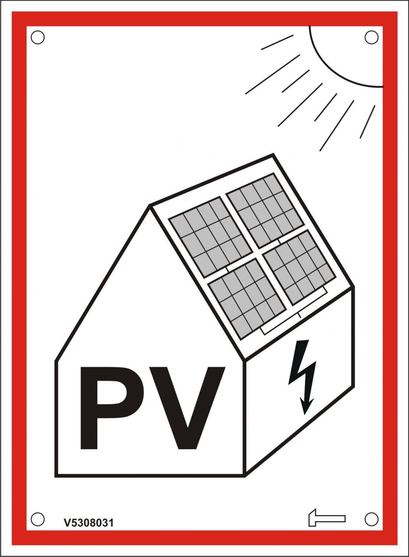 Grundpaket - Varningsskyltar - Solcellsanläggning