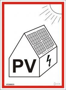 Grundpaket - Varningsskyltar Solcellsanläggning
