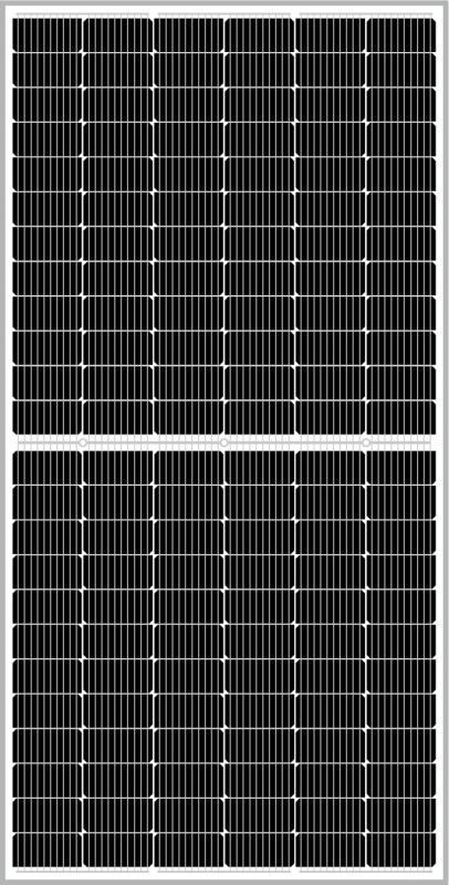 ZNShine Solar - 530W, 144M, 10BB, Bifacial, GlasGlas, PERC