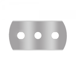 Rounded 3-hole blade Sollex knives 1-030-R