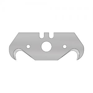 Hook blade 1 hole Mozart 10pcs 51x18.85x0.63 mm – hook blade MSG