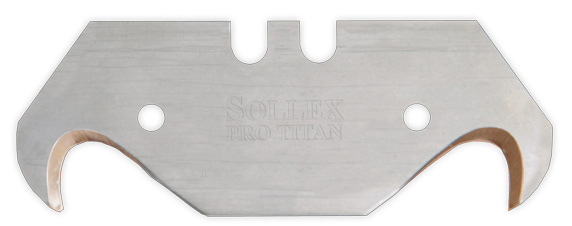 hook blade in titanium for professional use