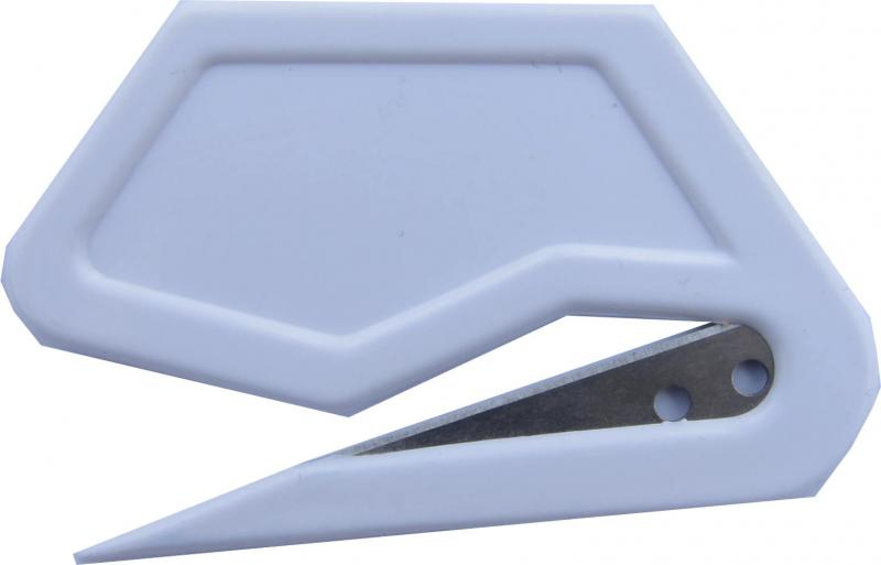 foliekniv i liten storlek som är enkel att använda för att skära plastfolie eller öppna brev