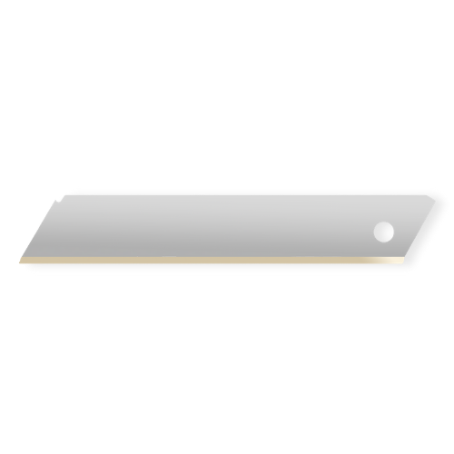 180lus Snap-off blade without segments 18mm 10pcs 100x17.9x0.5mm