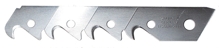 large snap-off blade with teeth
