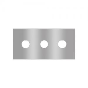 Trehåldsblad kolstål Sollex knivar 2-030