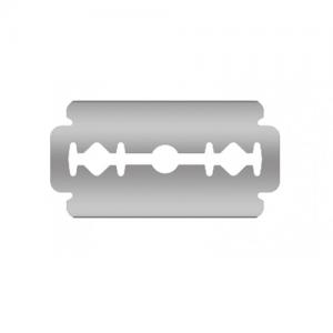 Razor blade 3-020 with Gillette grip – 200pcs 43x22x0.20mm