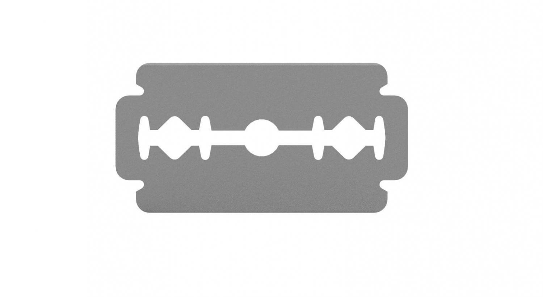 Rakblad med gilettefattning - Razor blade for gilette holder
