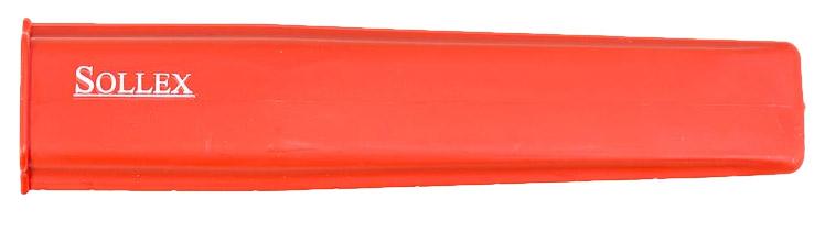 röd knivskydd
