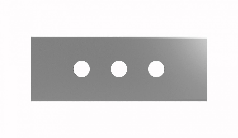 long carbon steel blade industrial razor
