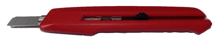 red safety knife