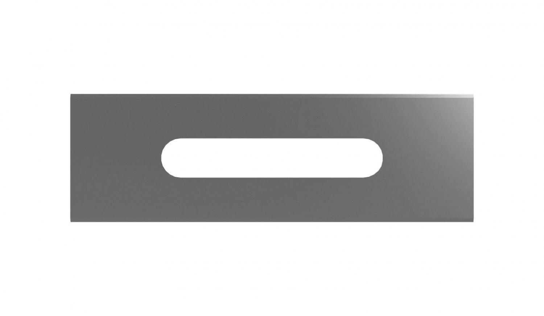 Slitter blade 57x18,8x0,20mm straight HSS (100 pcs)
