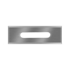 5-020 Slitter blade 0.20mm SS 200pcs 57x18.8x0.20mm / Lutz