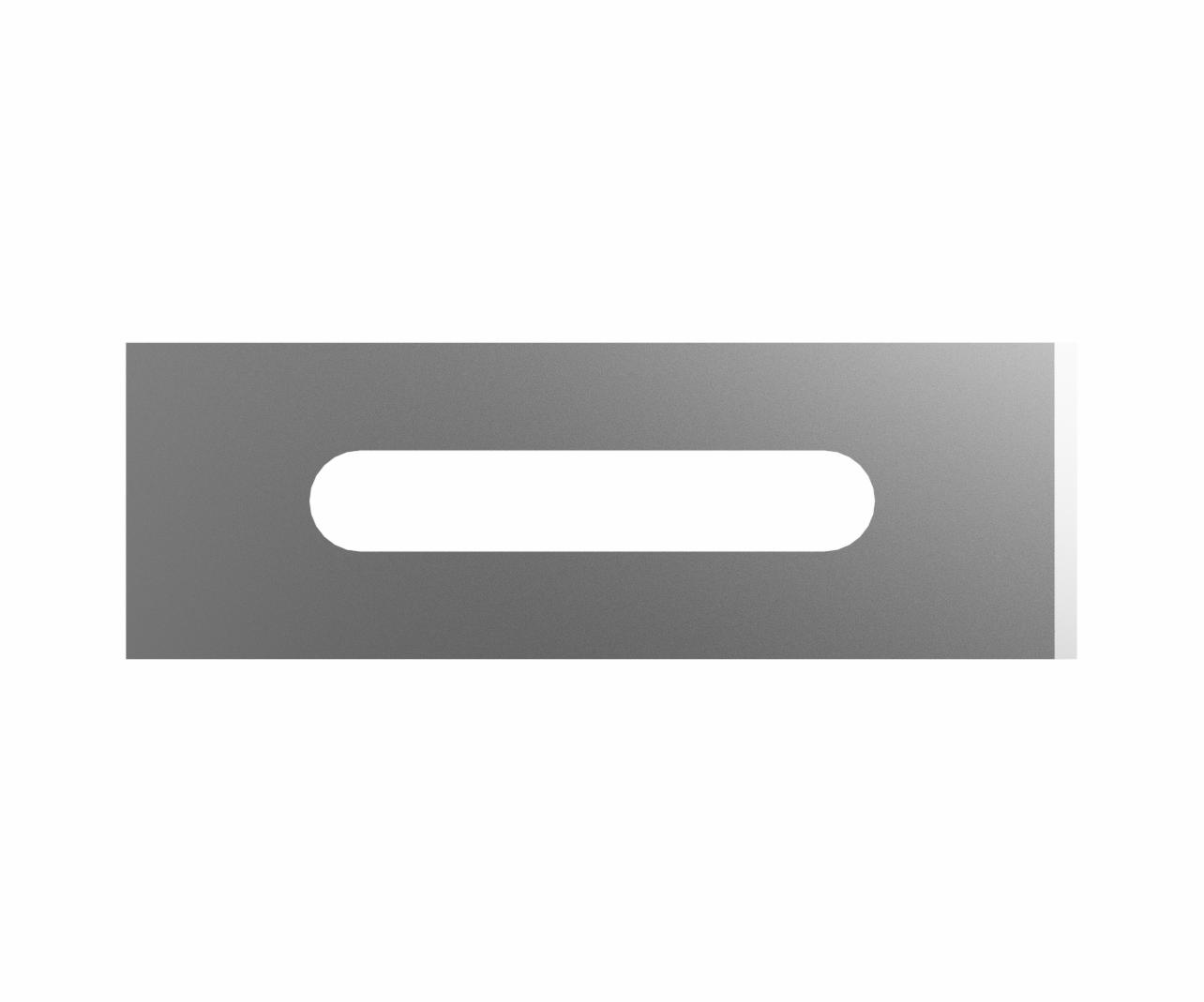 simple slitter blade 50 pack in stainless steel