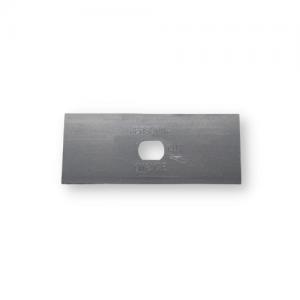 Knivblad i storleken 44x18x0,40mm slipat på en sida Sollex 6101