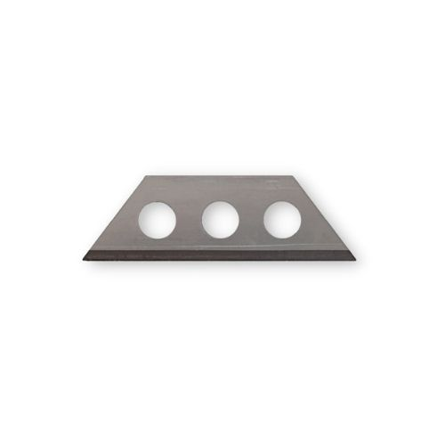 Small trapezoidal blade with 3 holes 30x9x0,4mm (500 pcs)