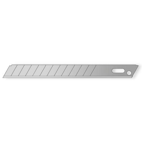 90 Snap-off blade mozart 9mm 10pcs 94.5x8.9x0x4mm