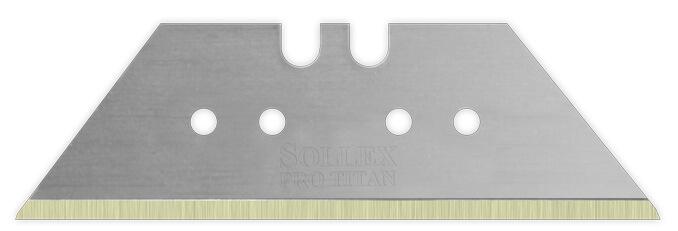 4 små hål trapetsblad - Sollex knivar