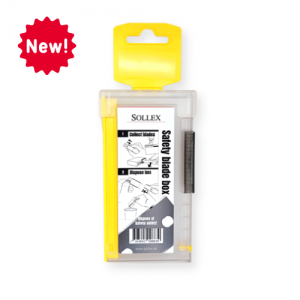 Sollex Safety blade box safety box for collecting the used blades 988 - New Product at Sollex.se