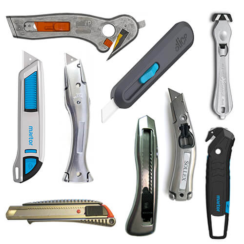 Category image Sollex hand knives in several colors