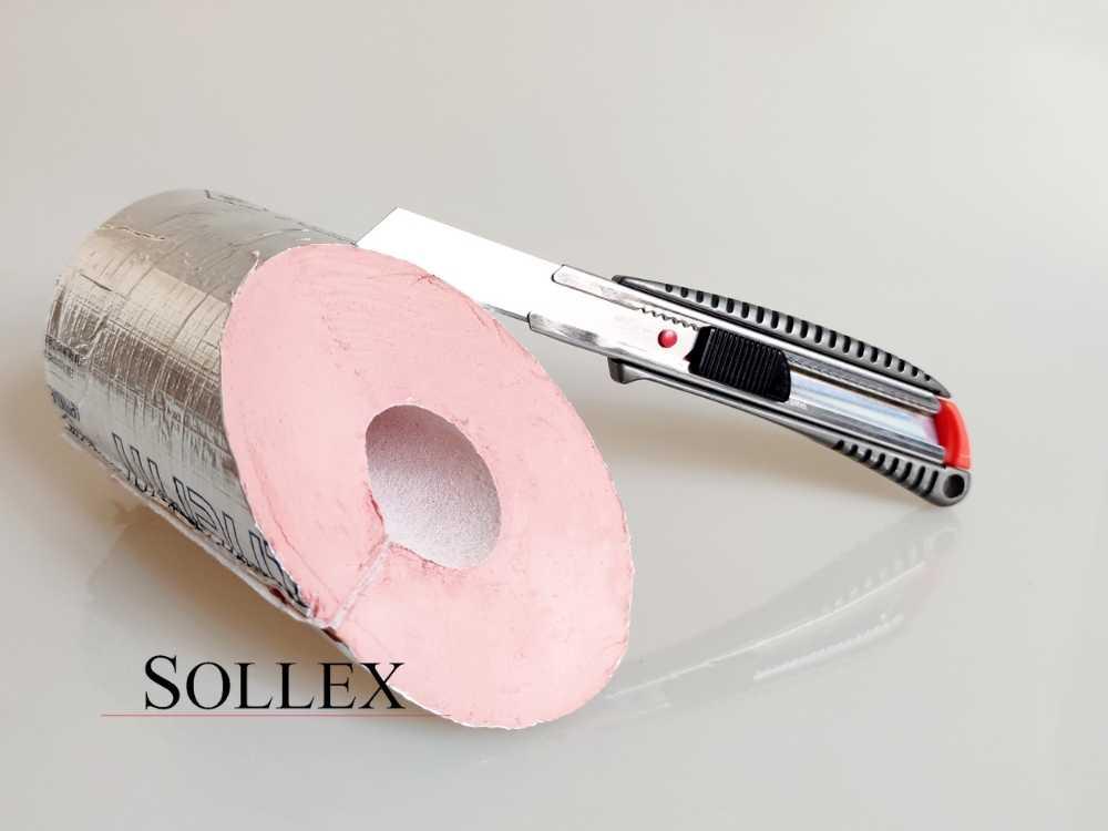 Hur man skär rörisolering av fenolskum med aluminiumfolieskikt  - Sollex Blog