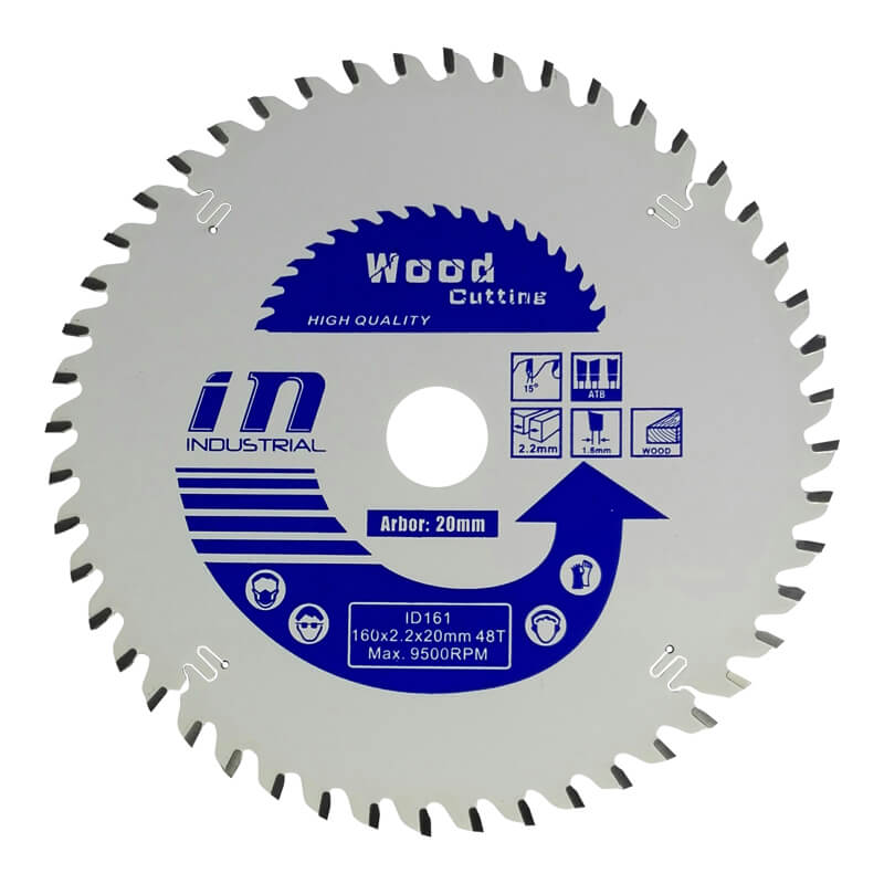 Teflon coated Saw blade with teeth