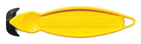 gul Klever koncept säkerhetskniv