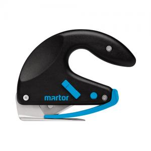 Very robust, high precision Ergonomic safety knife Martor Secumax Opticut with plastic handle