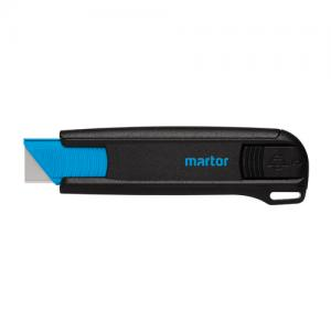 spring retention safety knife Martor Secunorm with reinforced glassfiber plastic