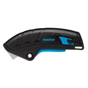 För att förebygga skador har säkerhetskniven Martor Secupro Merak automatisk restriktion knivblad