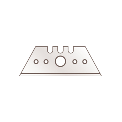 Straight and short trapezoid razor blade from Martor in 100-pack double-sided and single-edges