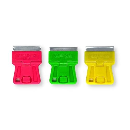606 Mini scraper neon in display bucket 100pcs